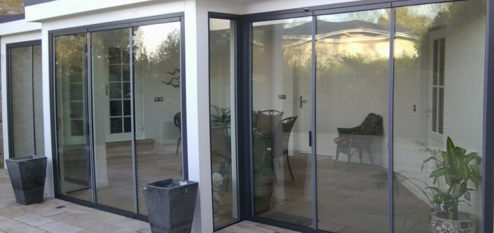 ultraslim slide and turn pivot swing glass doors from sightline doors