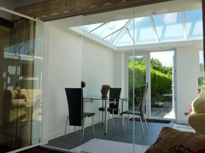 Frameless Glass Door room dividers