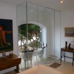 Internal Frameless Glass Doors, tempered glass