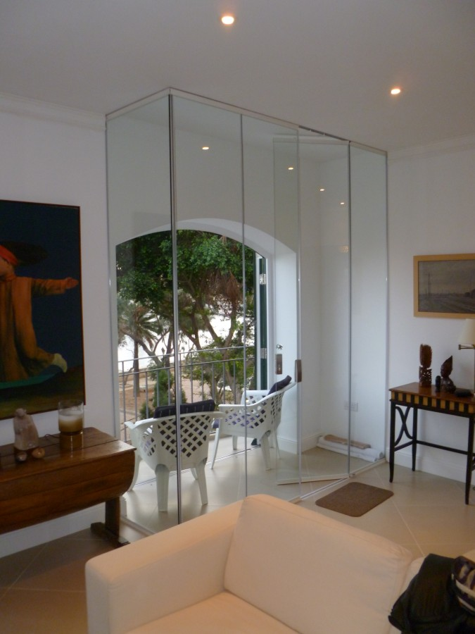 Internal Frameless Glass Doors Tempered