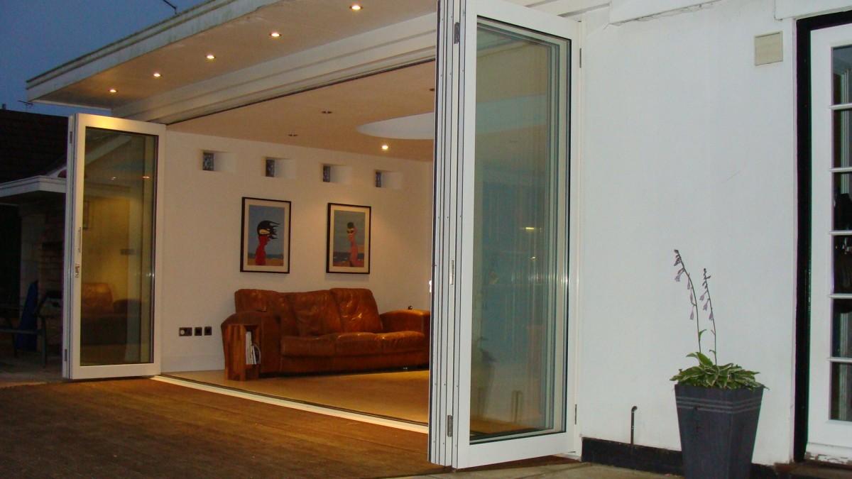 Extension With Bi Folding Doors