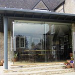 Sightline Large Glass Doors - Corner Opening