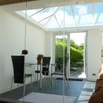 Frameless Glass Room Divider Doors, fully retractable for open plan living