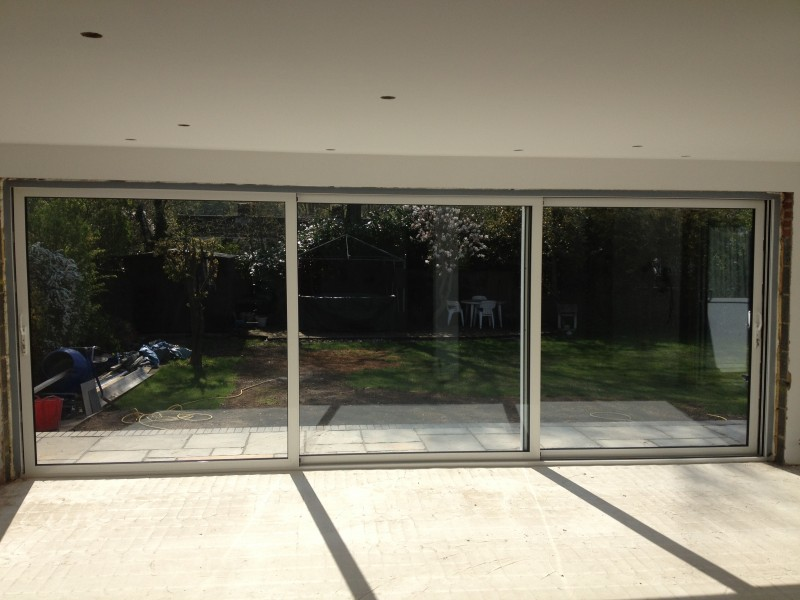 Sightline doors gallery extra large glass sliding doors for Largest sliding glass doors
