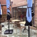 UltraSlim Doors at Caffè Nero