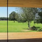 very large glass sliding doors - stunning