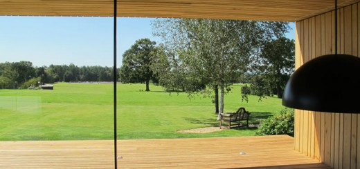 very large glass sliding doors - stunning