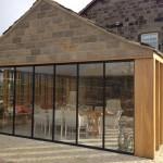 brick, timber, aluminium & glass