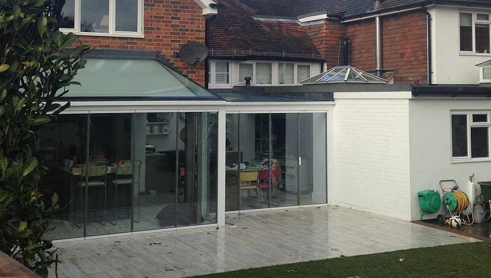 ... UltraSlim Patio Doors Large Glass ...