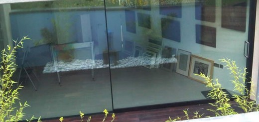 Sightline large leaf glass doors