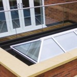 lantern roof, glass panel balcony