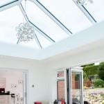 lantern roof, bifold doors