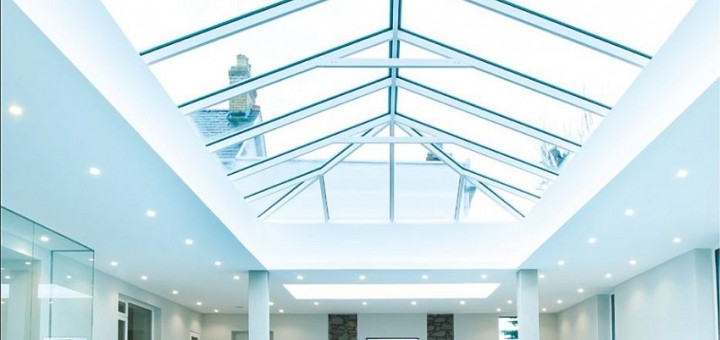 glass roof, lantern roof