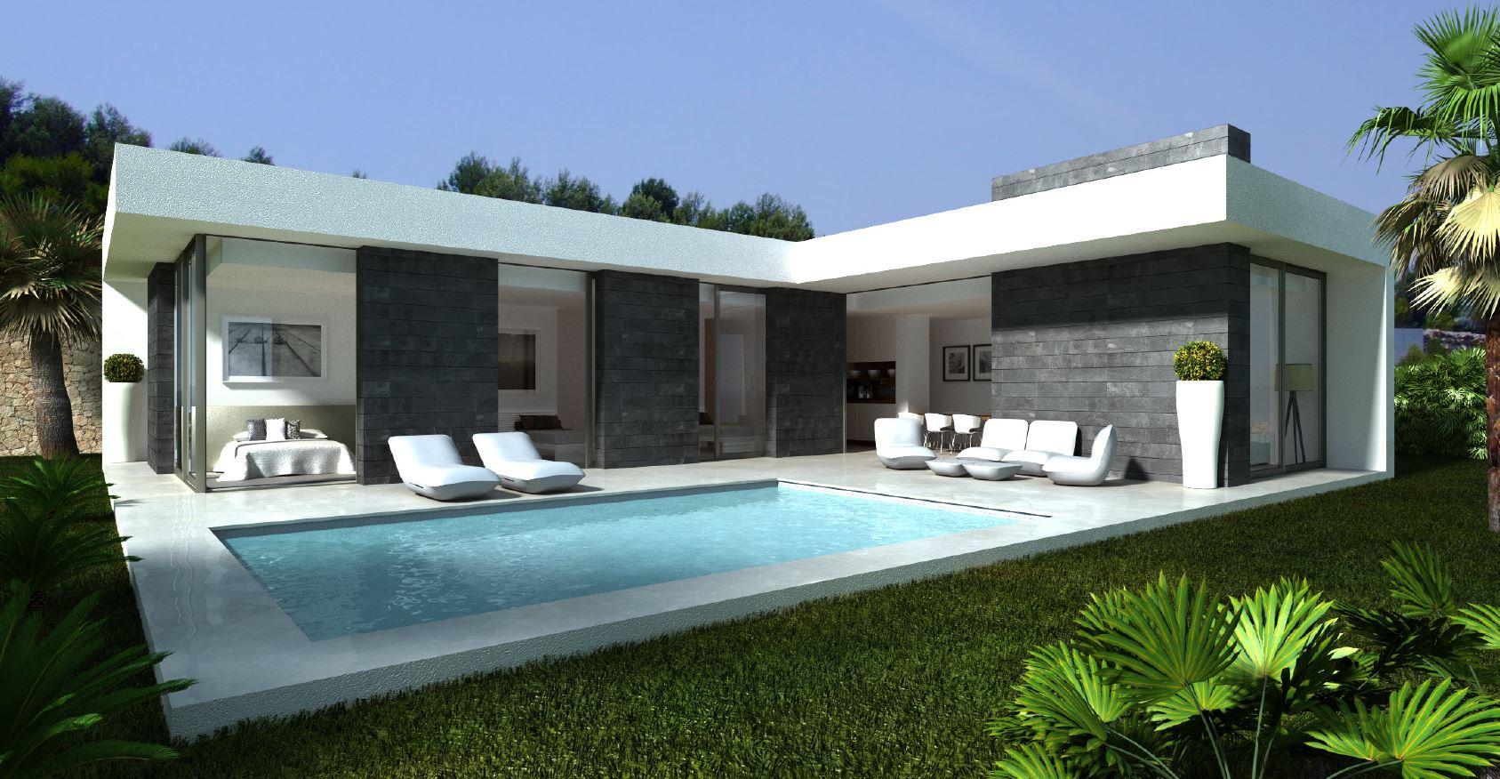 Luxury designer villas built to order in denia large for Glass house luxury villa